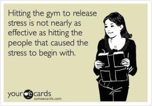 hitting the gym www.sleevers.wordpress.com