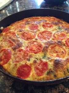 Sausage Egg Cheese Veggie Fritatta www.sleevers.wordpress.com