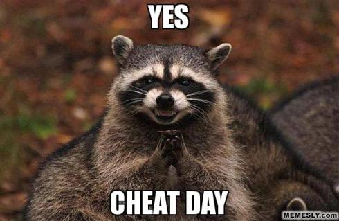 cheat day www.sleevers.wordpress.com