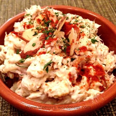 Curry Fish Salad www.sleevers.wordpress.com